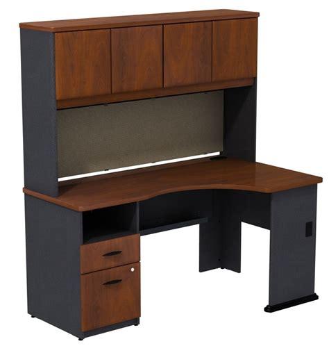 36 Corner Desk Series A 60 W X 36 D Single Pedestal Corner Desk Box