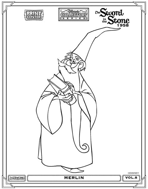 sword in the stone coloring pages coloringpagesabc com