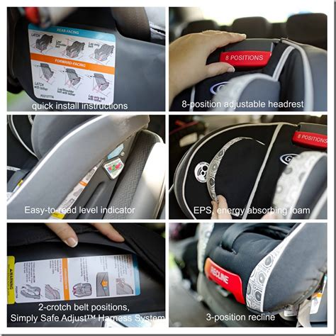 attaching graco car seat without base installing graco car seat without latch