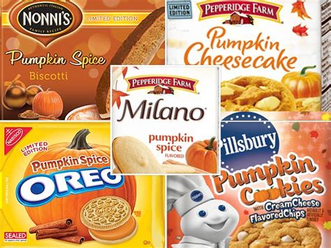 pumpkin food pumpkin spiced flavor foods the definitive list great ideas
