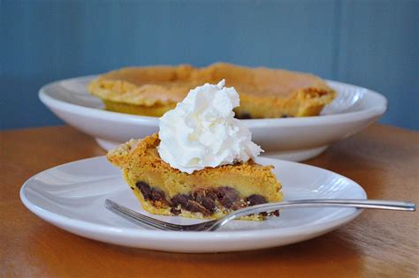 nestle toll house chocolate chip pie the art of comfort baking nestle toll house chocolate chip pie