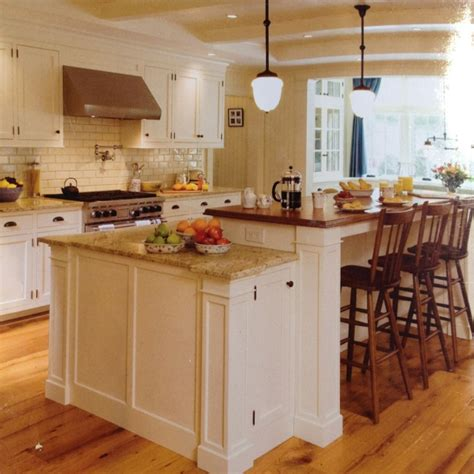 two level island kitchen