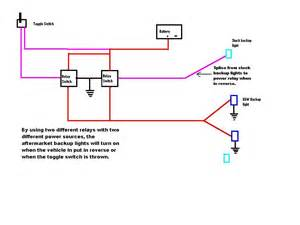 kooger diagram relay wiring backuplights jpg photo by slowhandsnow photobucket