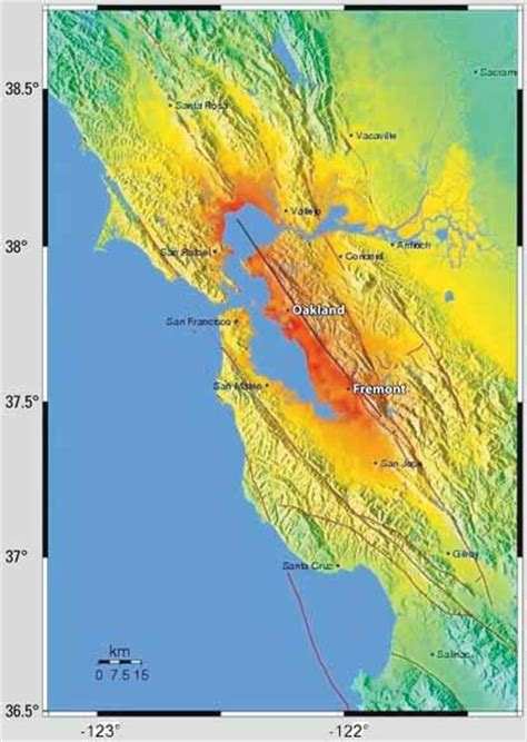 san francisco earthquake map usgs putting roots in earthquake country your handbook for