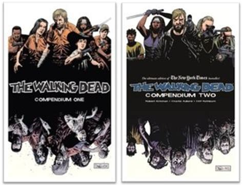 the walking dead compendium two the walking dead compendium one two set walking dead