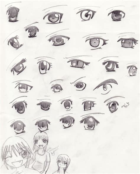 anime eyes drawing in pencil anime eyes by celipink on deviantart
