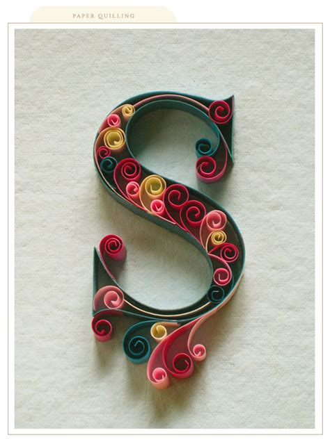 How To Make Paper Quilling Letters - printable quilling patterns the person that designed
