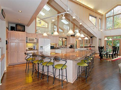 open kitchen plans with island 16 amazing open plan kitchens ideas for your home