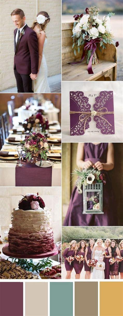 Fall Color Wedding Invitations