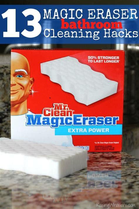 magic eraser bathroom 13 magic eraser bathroom cleaning hacks raising the o