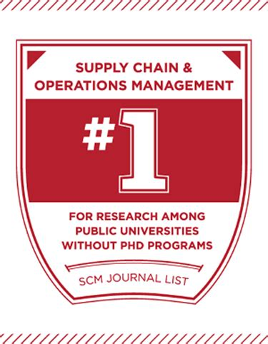 Farmer School Of Business Mba Ranking by Supply Chain And Operations Management Program To