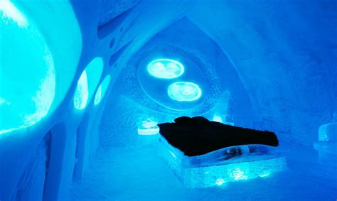 hotel de glace made of ice and snow h 244 tel de glace unveils its new