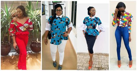 Drool Over These Unique Ankara Tops   Amillionstyles.com