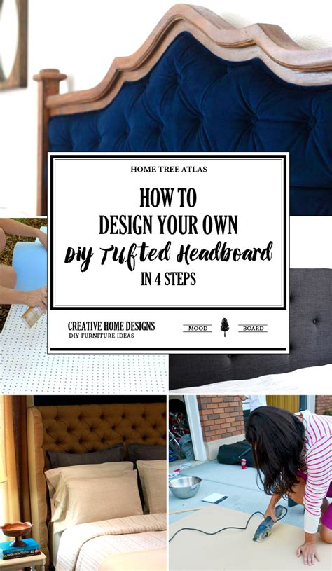 design your own headboard how to design your own diy tufted headboard in 4 steps