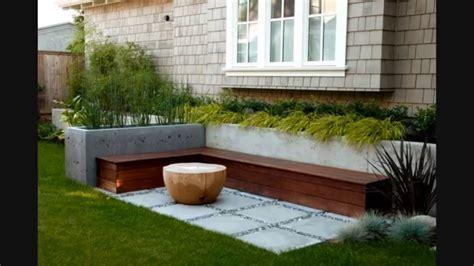 Cement Block Bench تصاميم حدائق منزليه بسيطه فناء وسقيفة Youtube