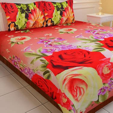 soft bed sheets buy luxury 5 soft 3d print bedsheets 5bs1 at best price in india on