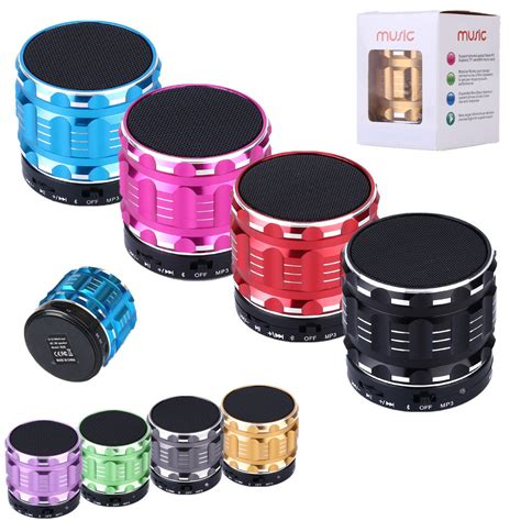 Speaker Bluetooth Mini Metal Bass Portable Bluetooth Speaker Pr 1 bluetooth wireless speaker mini bass portable for iphone samsung tablet pc many colors