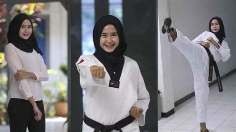 Setelan Japanese Pink style ala juara taekwondo internasional asal