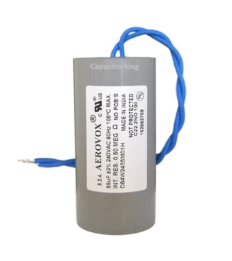 hps capacitor aerovox lighting capacitor 55uf 240 volt high pressure