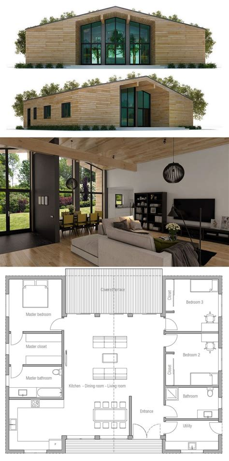 small modern house floor plans 25 best ideas about small house plans on pinterest small home plans small house