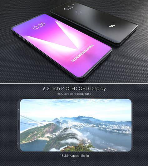 concept lg v40 viền bezels lg v40 has an 85 screen to ratio 6 2 quot p oled display techeblog