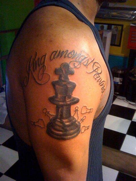 king and queen chess piece tattoo tattoo collections