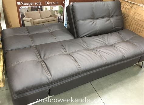 costco couch bed lifestyle solutions euro lounger costco weekender
