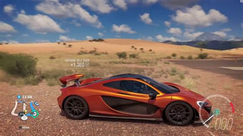 2013 Mclaren P1 Speed Jump Crash Test Forza Horizon 3