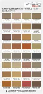 davis concrete color chart pin davis concrete color selector page 1jpg on