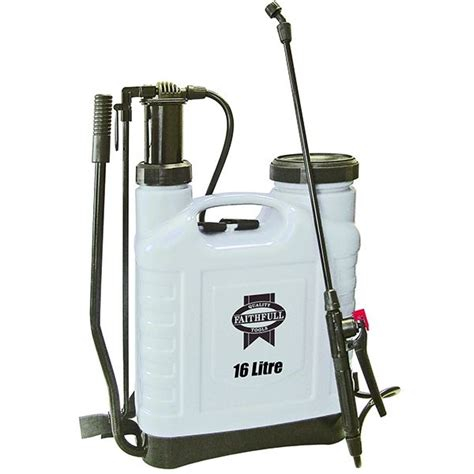 Knapsack Sprayer Alpha 16 faithfull knapsack sprayer 16 litre capacity