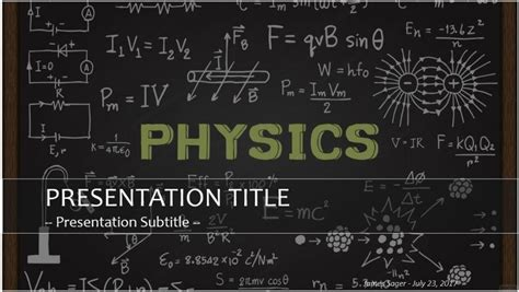 physics ppt themes free download free physics powerpoint 26158 sagefox powerpoint templates