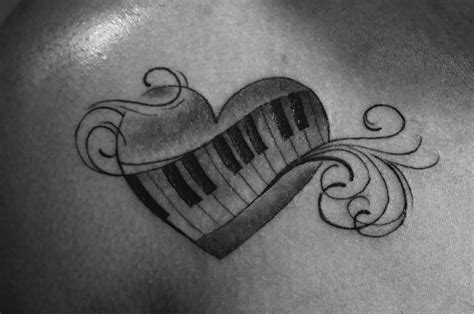 keyboard tattoo 50 phenomenal piano ideas golfian