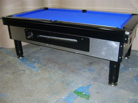 ex pub pool tables excel silver7x4 slate bed pub pool table with downlights
