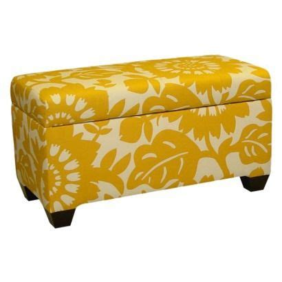 yellow and white ottoman 25 best ideas about yellow ottoman on pinterest what