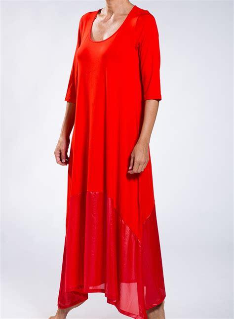 Maxi Dres 3 dress delos 3 4 maxi sleeves