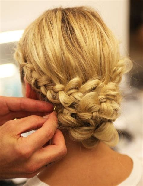 haircut styles you can do yourself guys from the runway a braided chignon you can do yourself