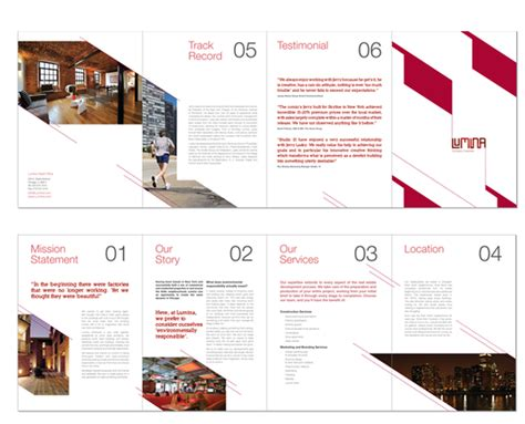 land layout brochure 30 real estate brochure designs for inspiration
