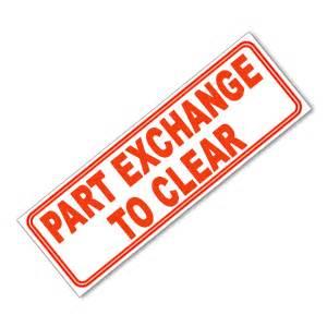 Parts Exchange Part Exchange To Clear Atack Ltd