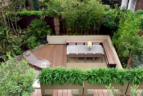 Garden Terracing Ideas Cool Garden And Roof Terrace Design In Contemporary Style Digsdigs