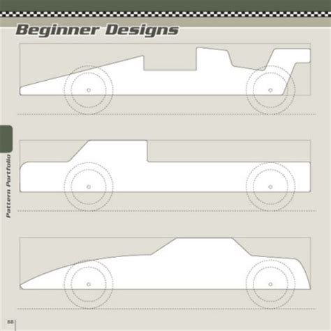 pinewood derby designs and patterns pdf woodworking