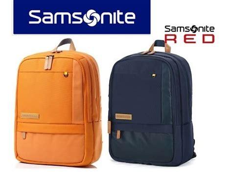 Authentic Samsonite Travel Bag Hitam buy 100 authentic samsonite backpack laptop backpack bag classic navy blue orange