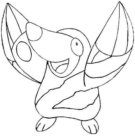 pokemon excadrill coloring pages coloring pages pokemon drilbur drawings pokemon