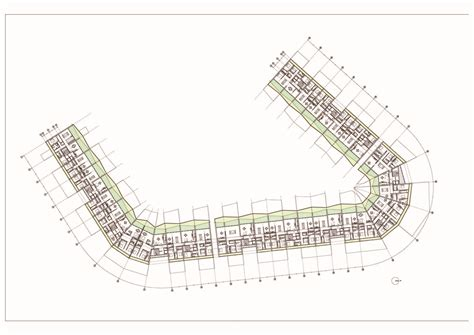 housing complex plans gallery of milanofiori housing complex obr 15