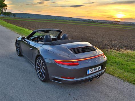 911 Porsche Cabrio by Porsche 911 Carrera 4s Cabrio Testbericht Autoguru At