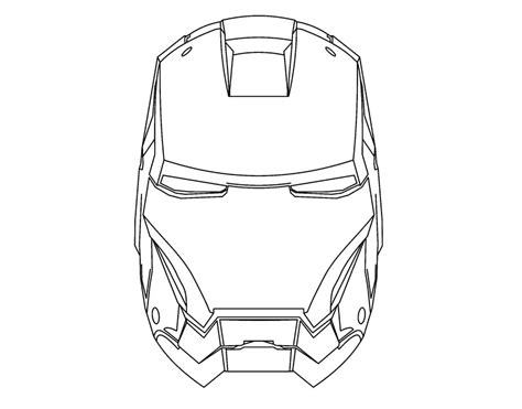iron mask template diy ironman mask by deejaywill on deviantart