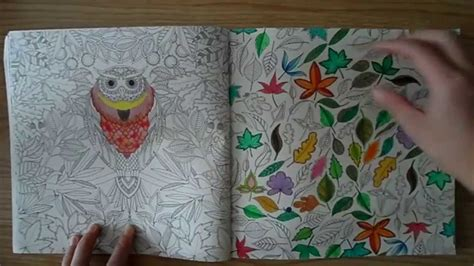 secret garden colouring book paper quality thai secret garden colouring book review thai version