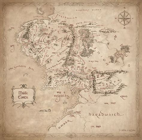 lord of the rings maps 79 best images about maps on lotr ruins and rpg