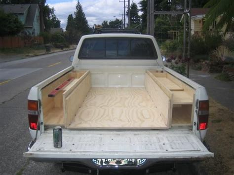 Truck Bed Organizer Ideas by In Bed Storage Ideas Toyota Minis Dedicated To