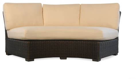 tropical sectional sofas lloyd flanders mesa curved sofa sectional tropical