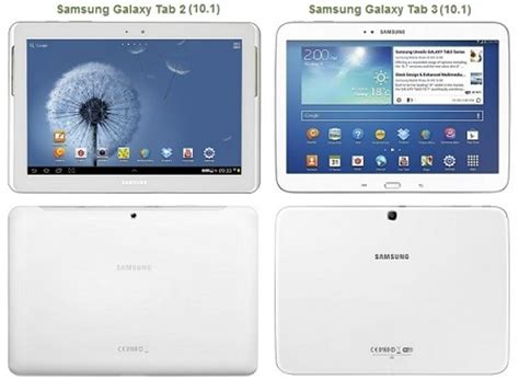 Samsung Galaxy Tab 1 2 Dan 3 vergelijking samsung galaxy tab 3 10 1 vs galaxy tab 2 10 1 tablet guide